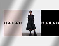 OAKAO – fashion brand logo design