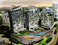 Lot F1-J Retail & Serviced Apartments at Danga Bay, MY