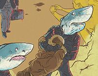 Atalanta, Sangue Atrai Tubarão