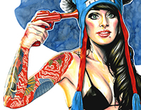 Illustration - Suicide Girls