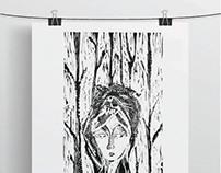 Ilustraciones: Xilografía (Grabado en madera )