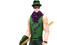 The Riddler - Modern redesign