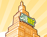 "Subway Canada: ""Super Heroes"" Breakfast Campaign"