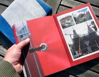 façade - a recycled book