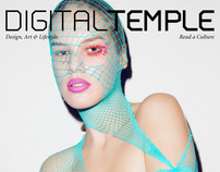 DIGITAL TEMPLE Magazine #10 Issue : THE X ISSUE.