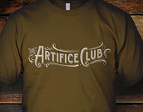 Steampunk Logo for The Artifice Club