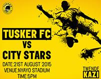 Tusker Lager football 2015