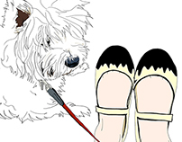 Illustration project ME AND MY DOG volume 1