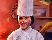 Chef Conceptual Portrait