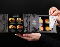 Packaging design for Association of Black Chocolate