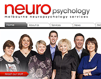Melbourne Neuropsychology Web Design and Development