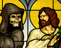 La Santa Muerte VS San Judas Tadeo