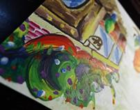 Color Sketch - The corner