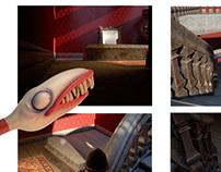 Tim Burton Inspired College Project