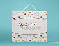 Glazur Shop branding