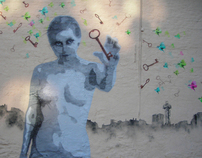 """Street art project Oslo: festival by """"Norsk form"""""""