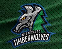 Minnesota Timberwolves Logo Redesign