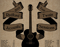 Redford Twain Concert Poster