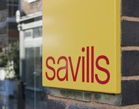 Savills brand identity