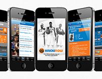KnicksNow App Design
