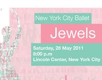 Mock poster for New York City Ballet
