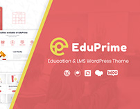 EduPrime - Education & LMS WordPress Theme