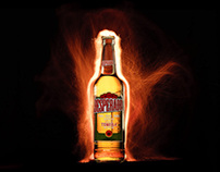 Desperados light painting