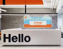 Entrance Light Box-Orange