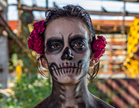 Catrina and the day of the dead