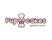 Pup Cakes Logo Design