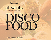 all saints - DISCO FOOD