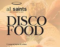 all saints - DISCO FOOD