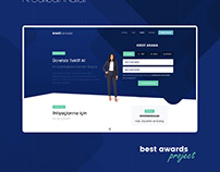Finance - Credit UI - UX Web Design