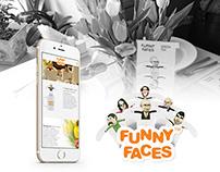 FUNNY FACES – Landingpage