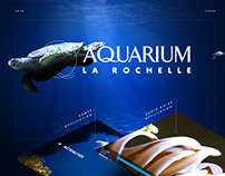 Aquarium La Rochelle - Ui Design - mobile apps