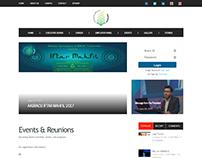 Web Dev for Alumni Association of BRAC University