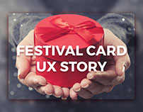 Festival Card UX Story