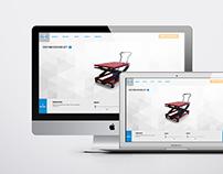 Responsive Sales Product Configurator for Scissor Lifts
