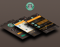 StarBucks App UX UI Design