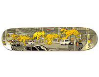 Infectious- Skate Deck