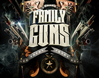 NatGEO - Family Guns Promo Graphics