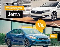 Volkswagen Vs. Kia Motion Graphics