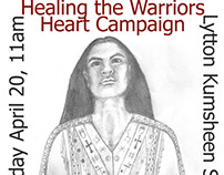 Healing The Warriors Heart Campaign Art and Design