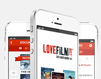 Lovefilm iPhone App- Concept Design
