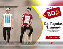 Fashion Banner Designs