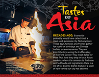 "Evansville Living Feature – ""Tastes of Asia"""