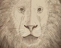 Africa - Adobe Illustrator technique