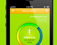 WALK MATE App for IPhone