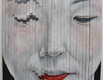 Artistic Study of Japanese Geisha