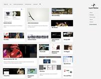 BK // responsive portfolio website
